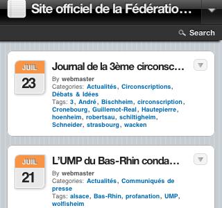 UMP 67 : un outil à destination des possesseurs d'iPhone, de Smartphones et Blackberry
