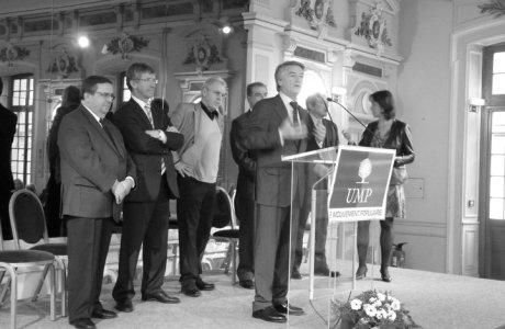 Comité Départemental : André REICHARDT réélu Président de l'UMP 67
