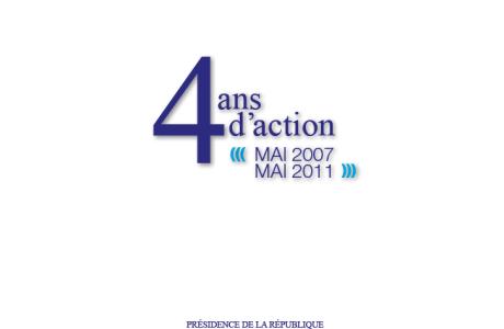 4 ans d'action de l'UMP et de Nicolas Sarkozy