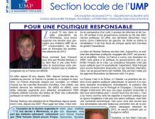 Bulletin de liaison de l'UMP de la 7ème Circonscription – juin 2011