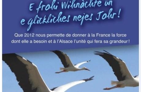 L'UMP du Bas-Rhin vous souhaite de Joyeuses Fêtes de fin d'année et une bonne et heureuse année 2012 !