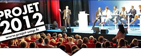Synthèse du Projet 2012 de l'UMP : Courage, Ambition et Rassemblement