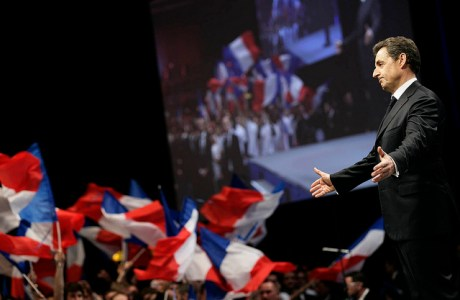 Grande réunion publique avec Nicolas SARKOZY le jeudi 22 mars 2012 à STRASBOURG