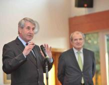 Philippe RICHERT, François LOOS, André REICHARDT et Fabienne KELLER soutiennent Nicole THOMAS, la candidate de la Majorité alsacienne pour les législatives dans la circonscription de Haguenau