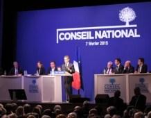 Conseil national de l'UMP : une famille unie et rassemblée au service de la France et des Français