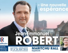 Grande réunion publique du second tour de Jean-Emmanuel ROBERT