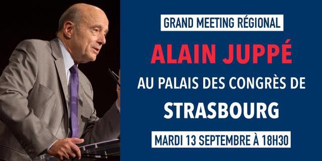 Meeting Juppé Strasbourg 2016