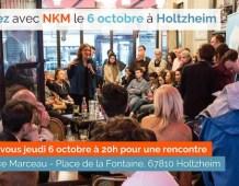 Rencontre avec Nathalie KOSCIUSKO-MORIZET à HOLTZHEIM – Jeudi 6 octobre à 20H