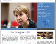 Lettre d'information d'Anne SANDER, député européen – Mars 2018