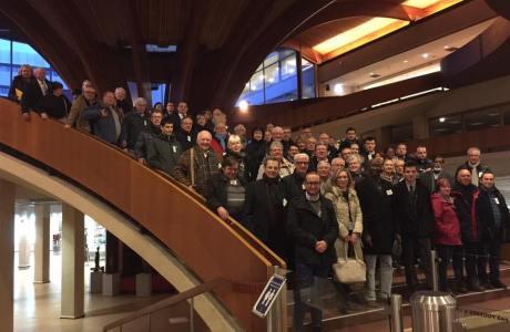 En images : Visite du Conseil de l'Europe – Mardi 20 mars 2018