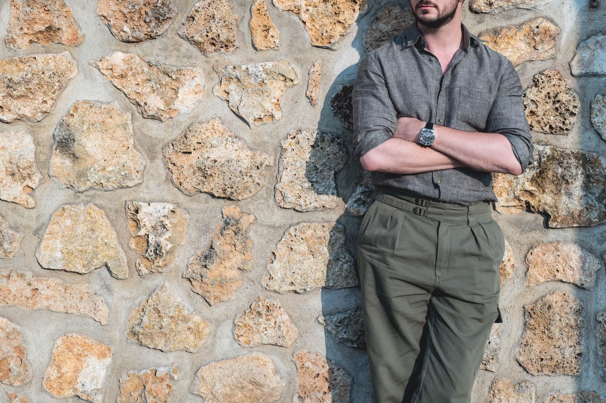 Pantalon Gurkha