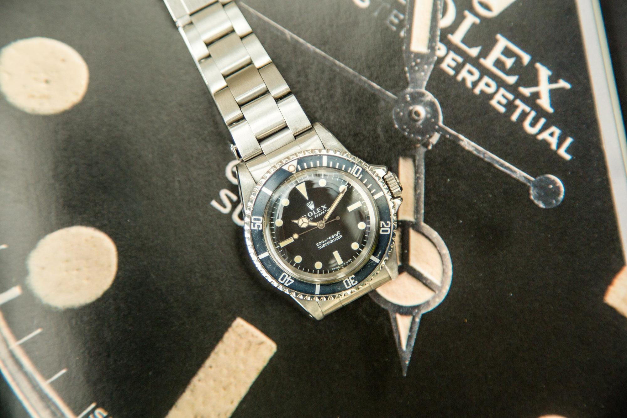 Vestiaire Collective - Montres Anciennes - Rolex 5513 Submariner