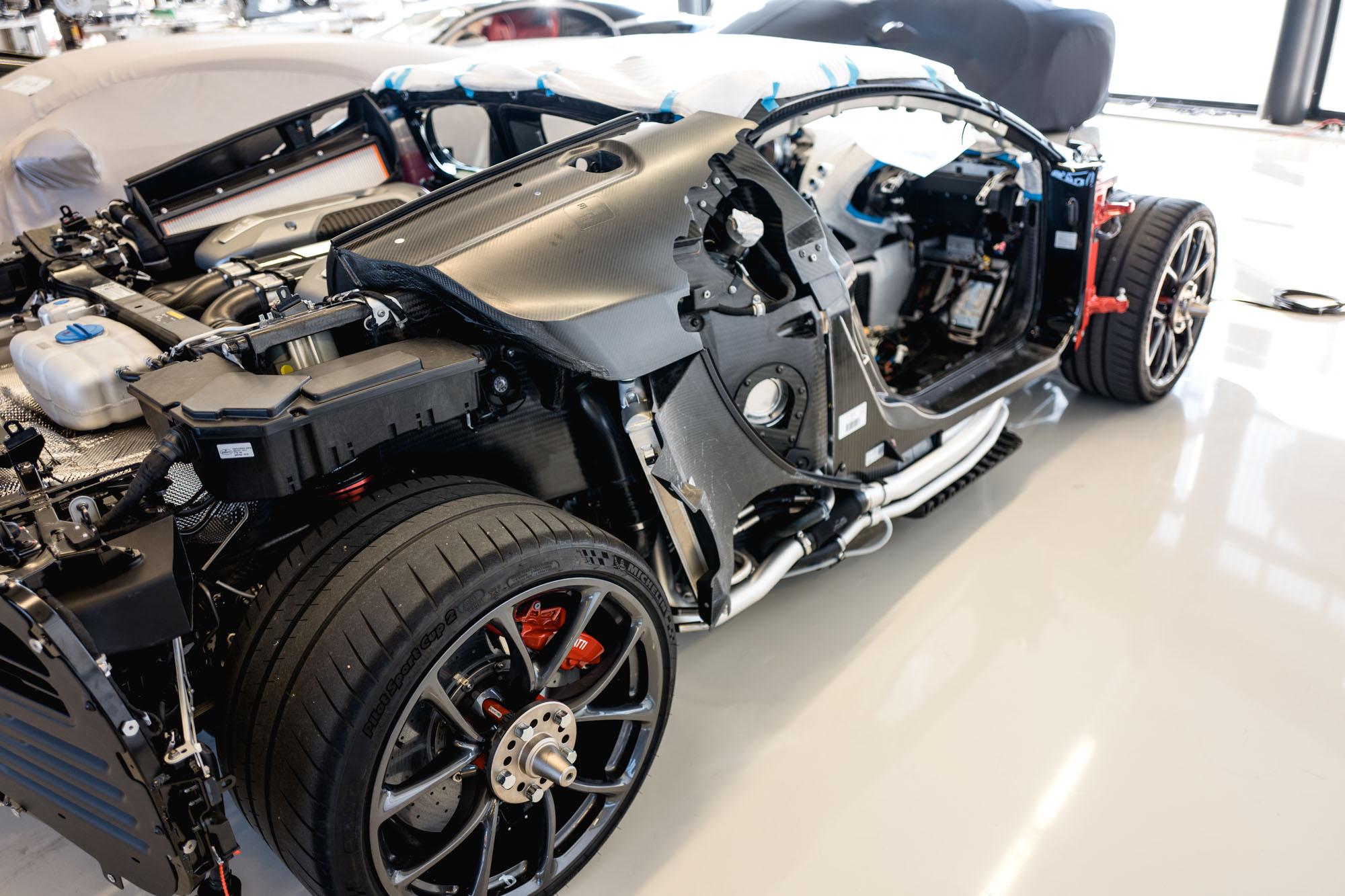 Ateliers Bugatti à Molsheim - Bugatti Chiron