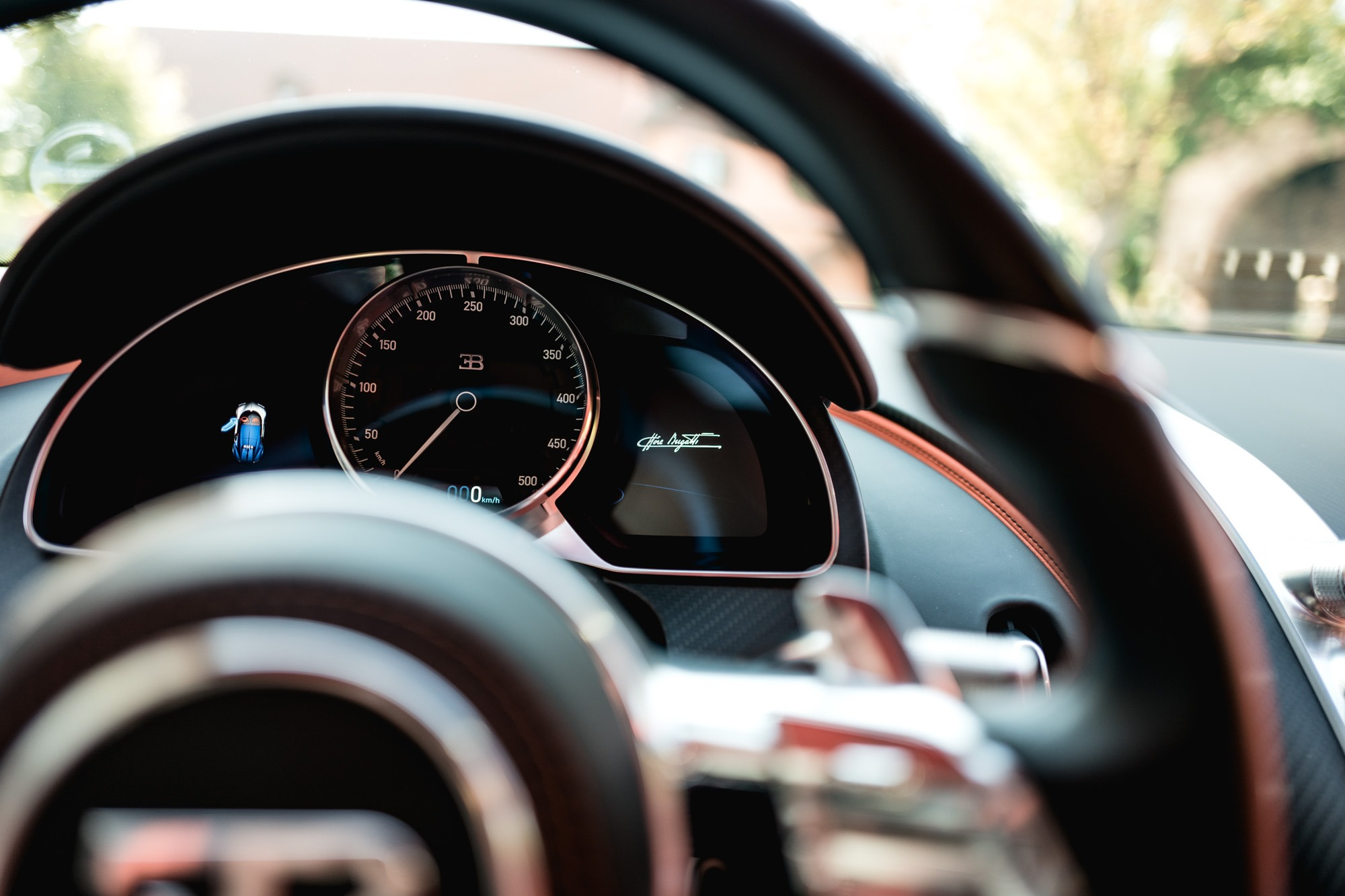 Ateliers Bugatti à Molsheim - Bugatti Chiron -Compteur de vitesse
