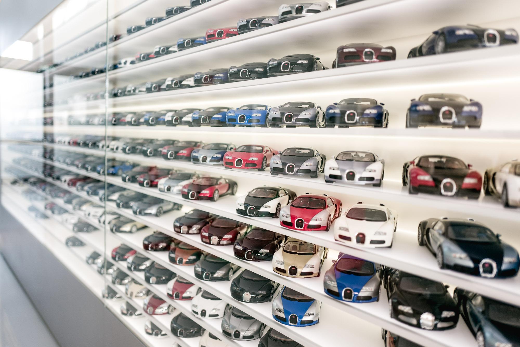Ateliers Bugatti à Molsheim - Miniatures Bugatti Veyron