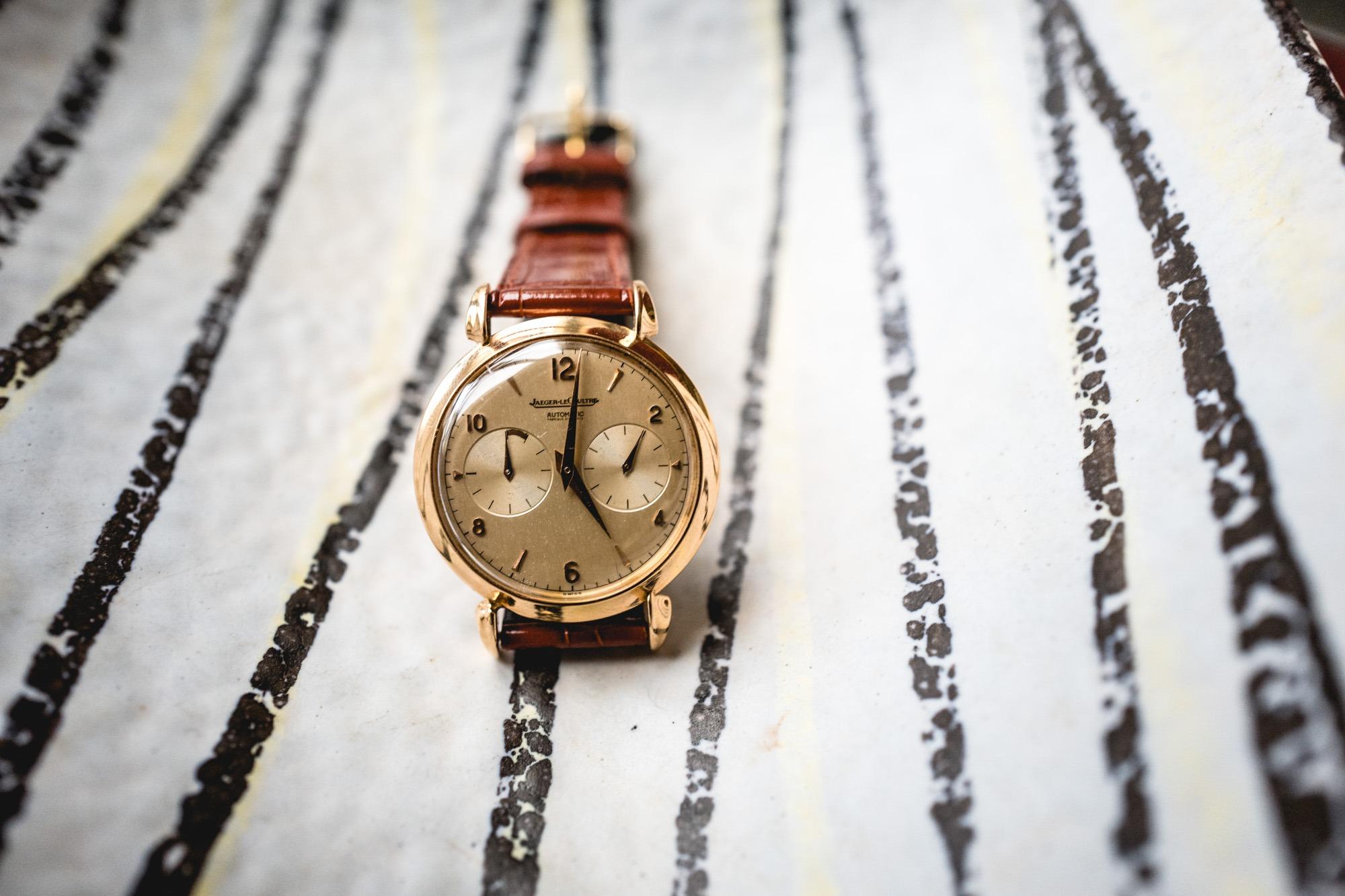 Tajan - Vente de montres du 11 décembre -Jaeger-LeCoultre Futurematic