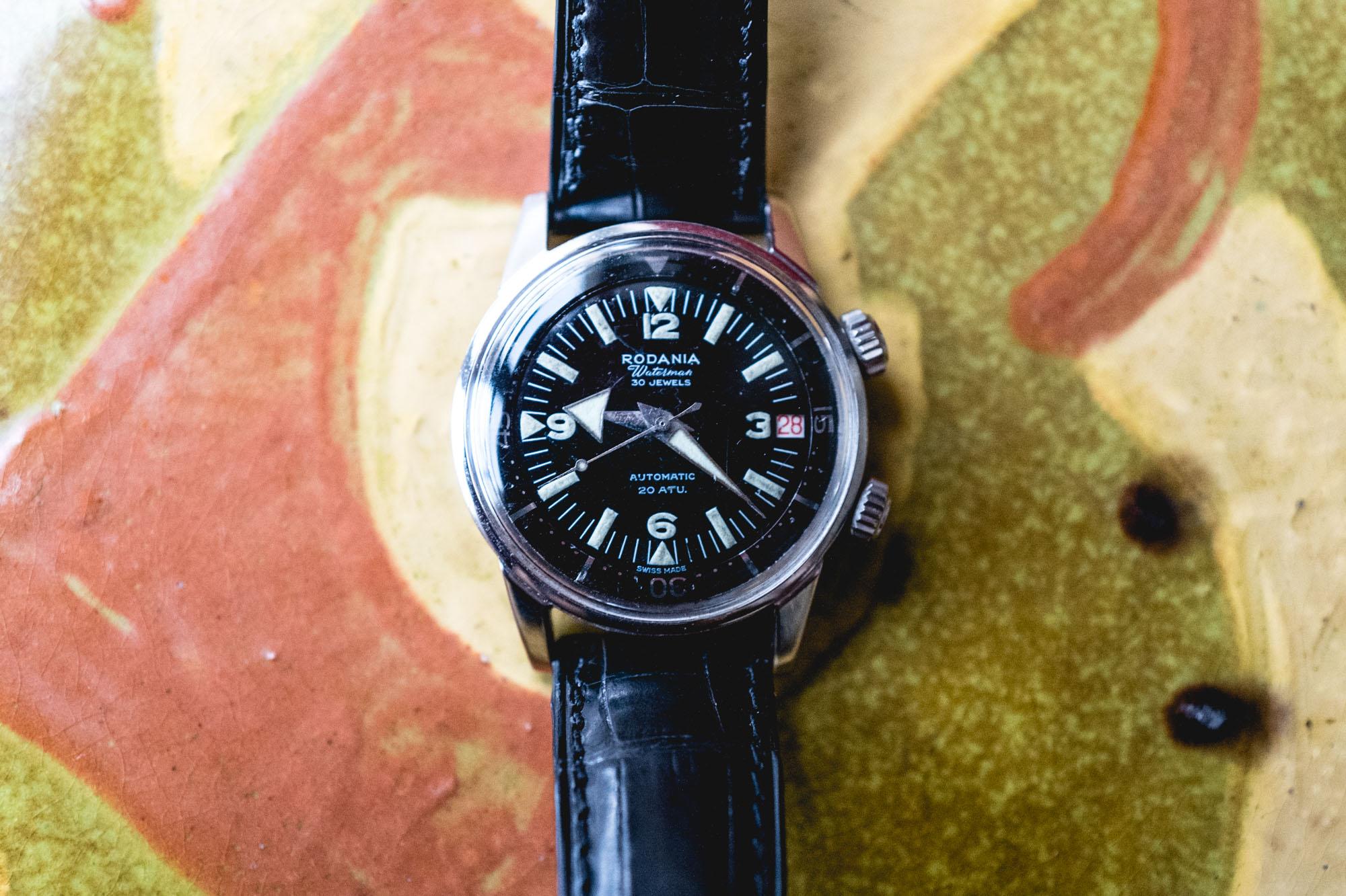 Tajan - Vente de montres du 11 décembre -Rodania Supercompressor