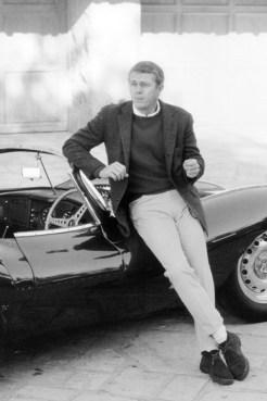 Steve McQueen - Hutton Playboy