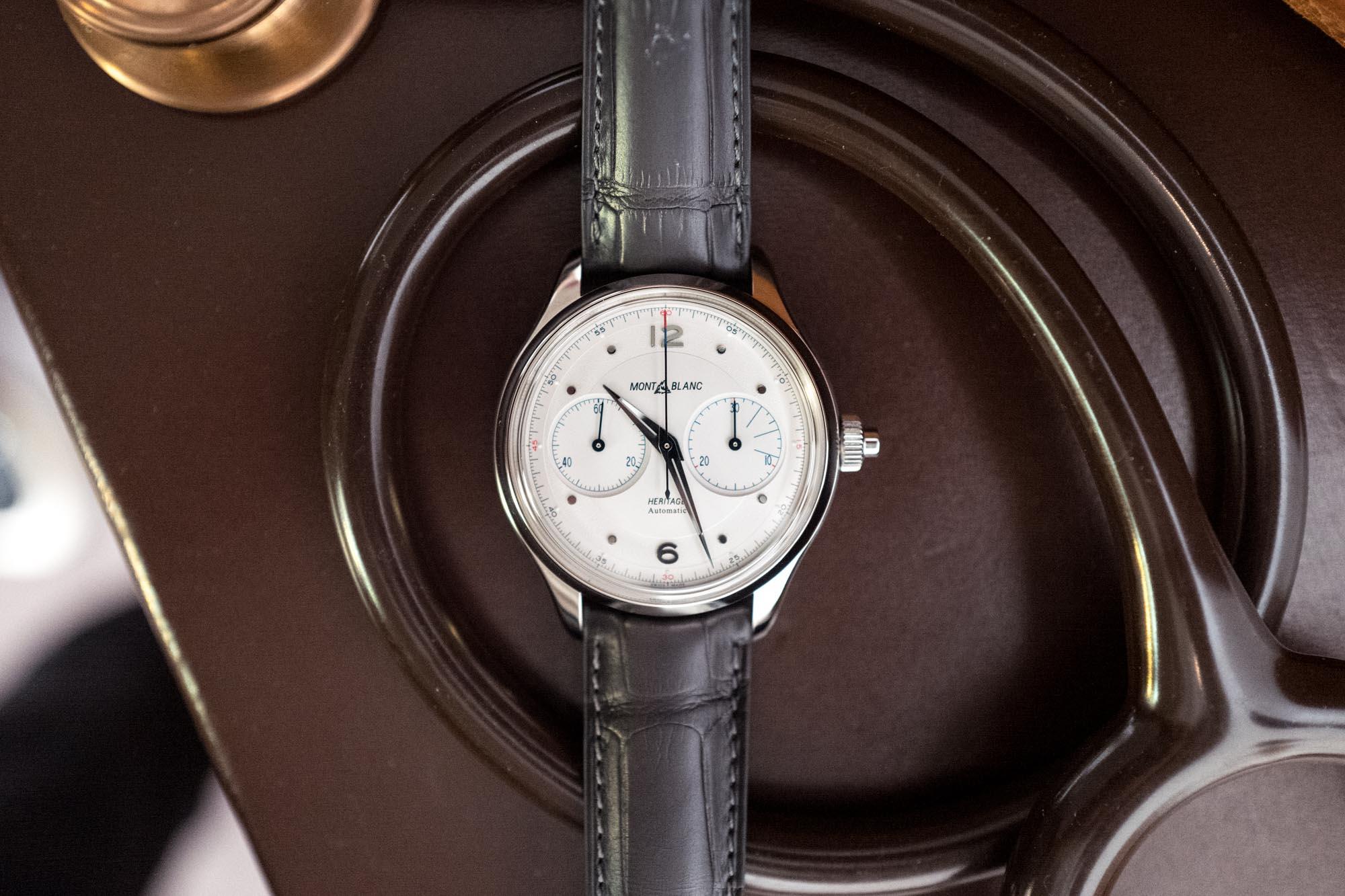 SIHH 2019 - Montblanc Heritage Monopusher Chronograph