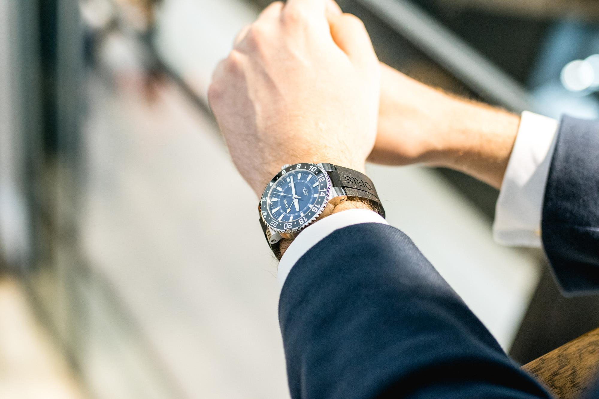 Oris Aquis GMT Date - Baselworld 2019