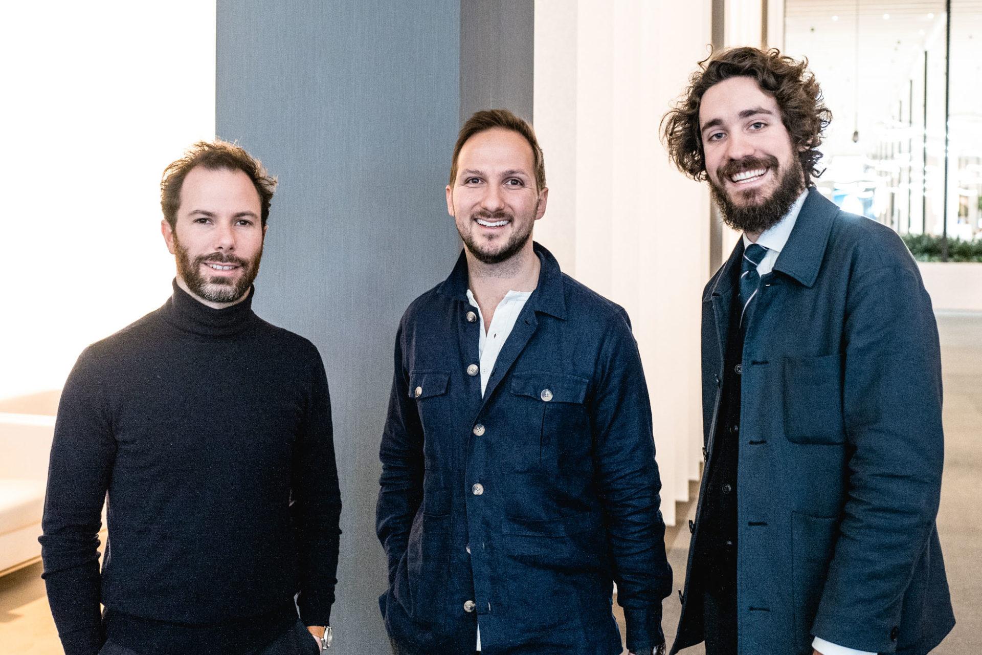 L'équipe Les Rhabilleurs - Gabriel, Jérôme & Nicolas