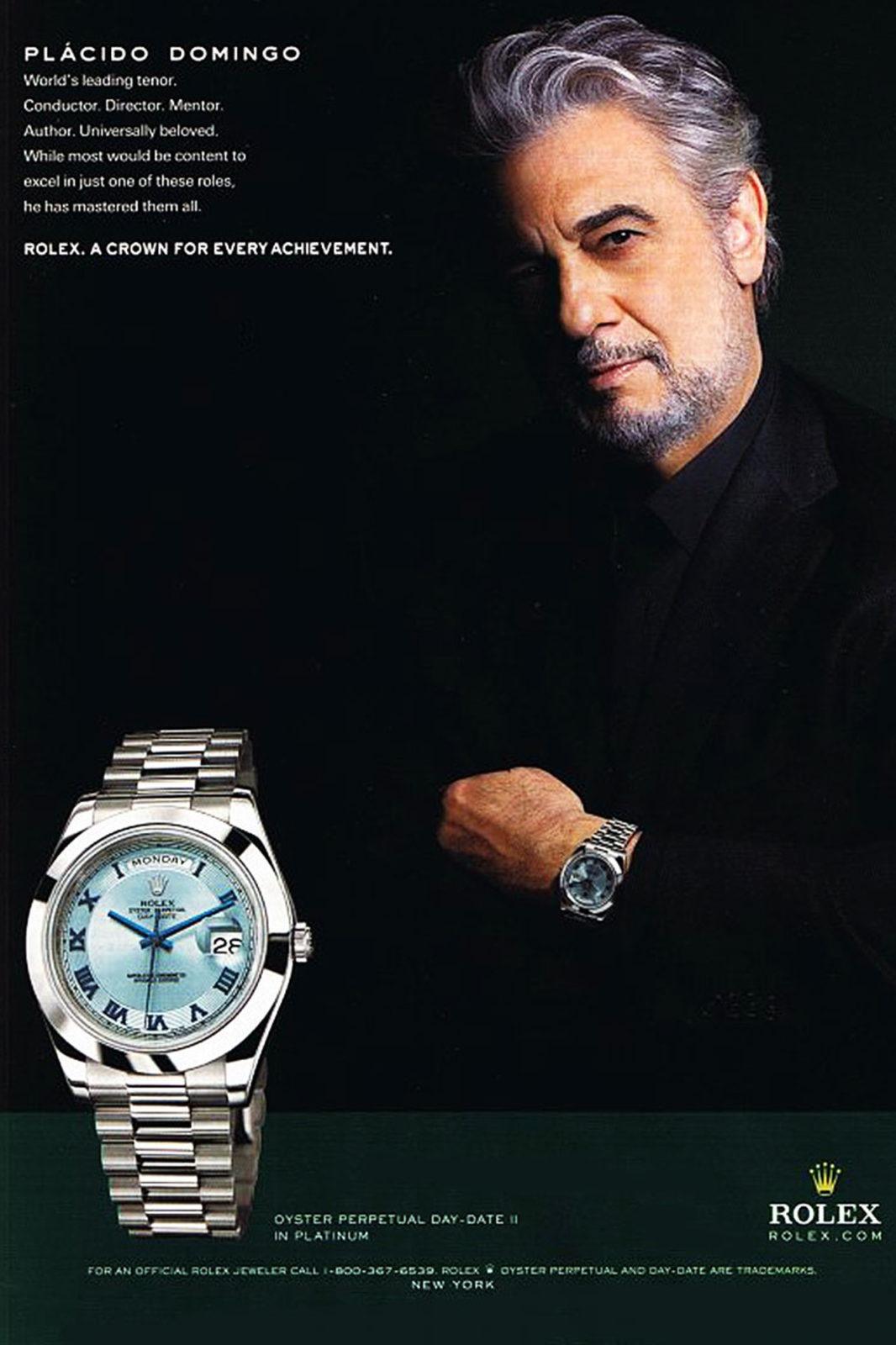 Publicité Rolex