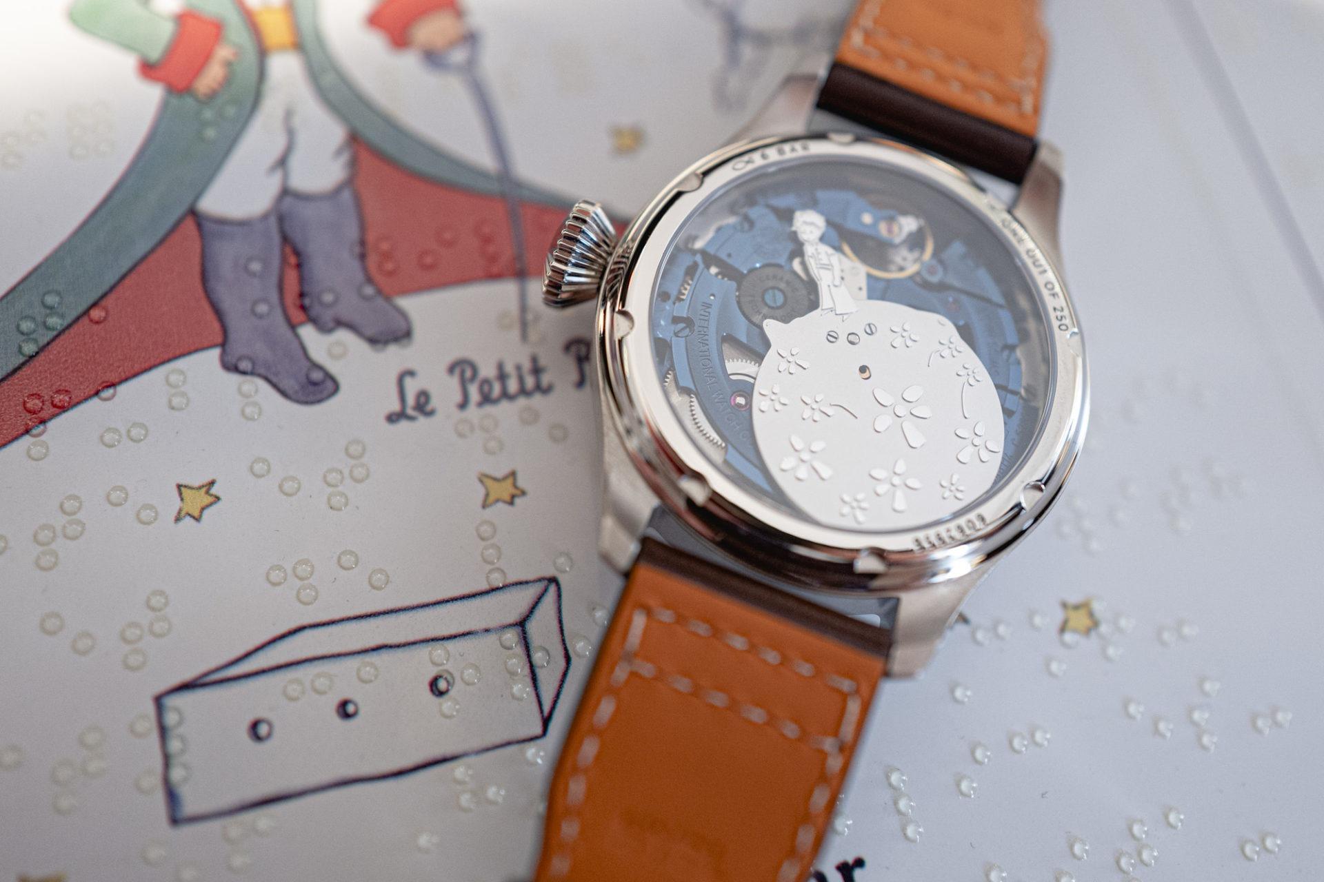 Grande Montre d'Aviateur Edition Le Petit Prince - Mouvement décoré