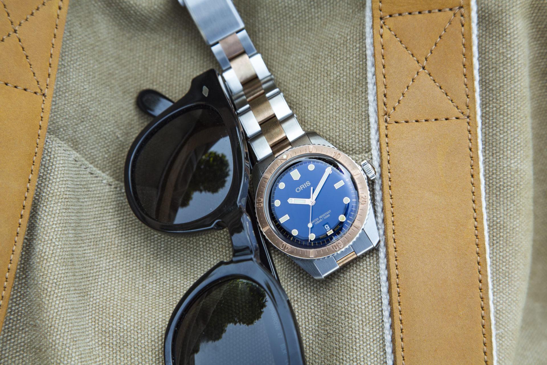 Oris Diver Sixty-Five 40mm - Bronze et Acier