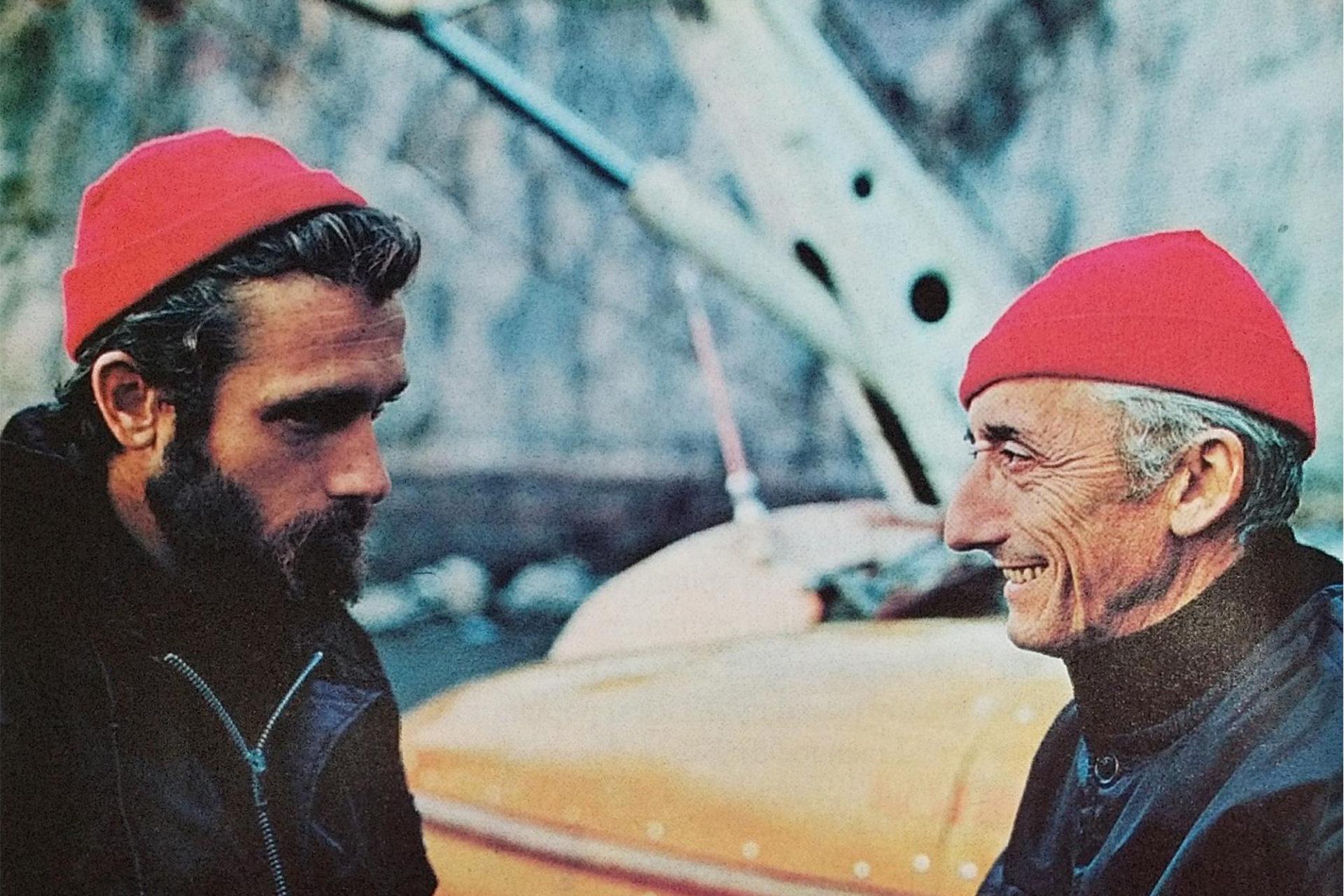 Philippe-Pierre et Jacques-Yves Cousteau