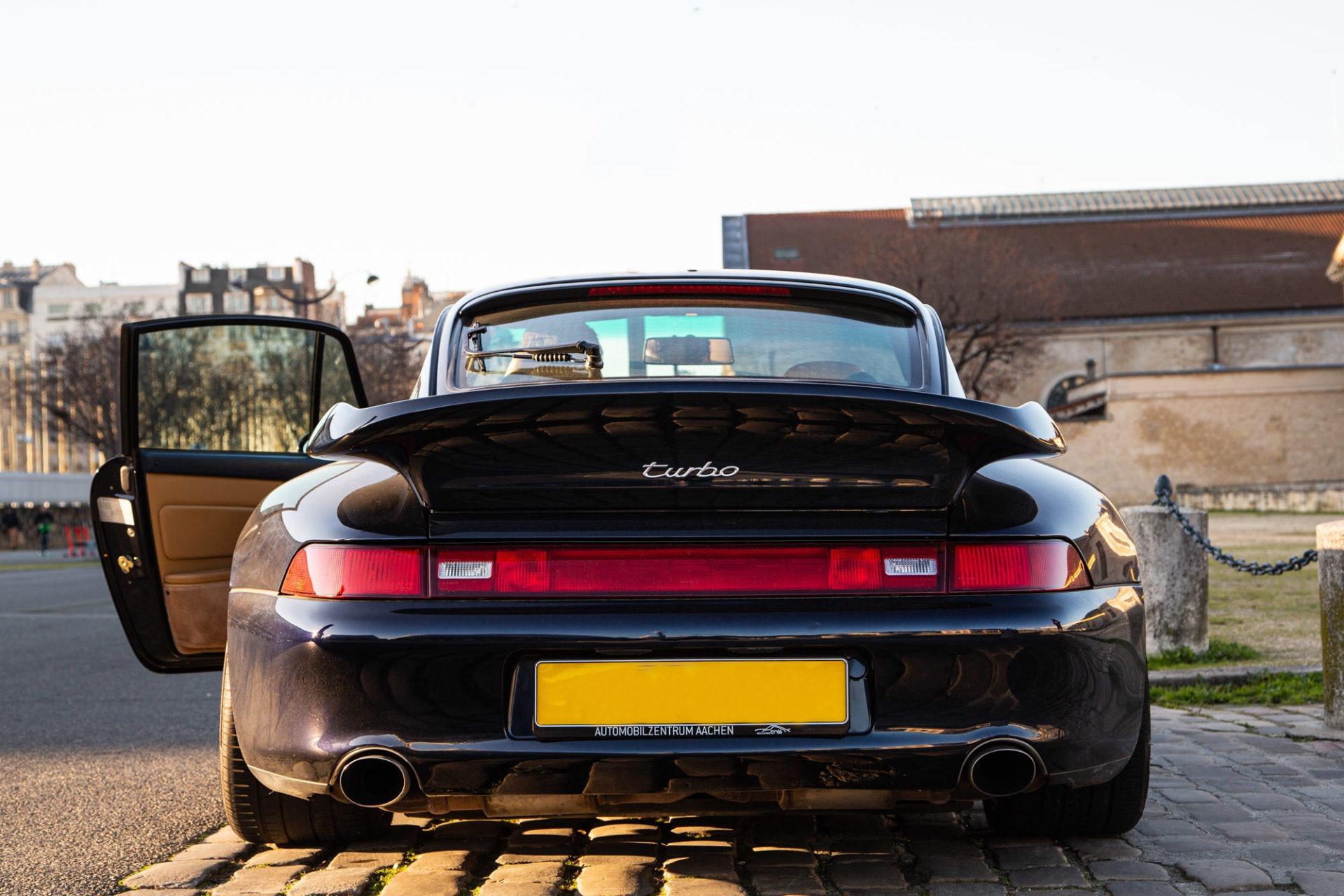 Porsche 911 Type 993 Turbo - Arrière