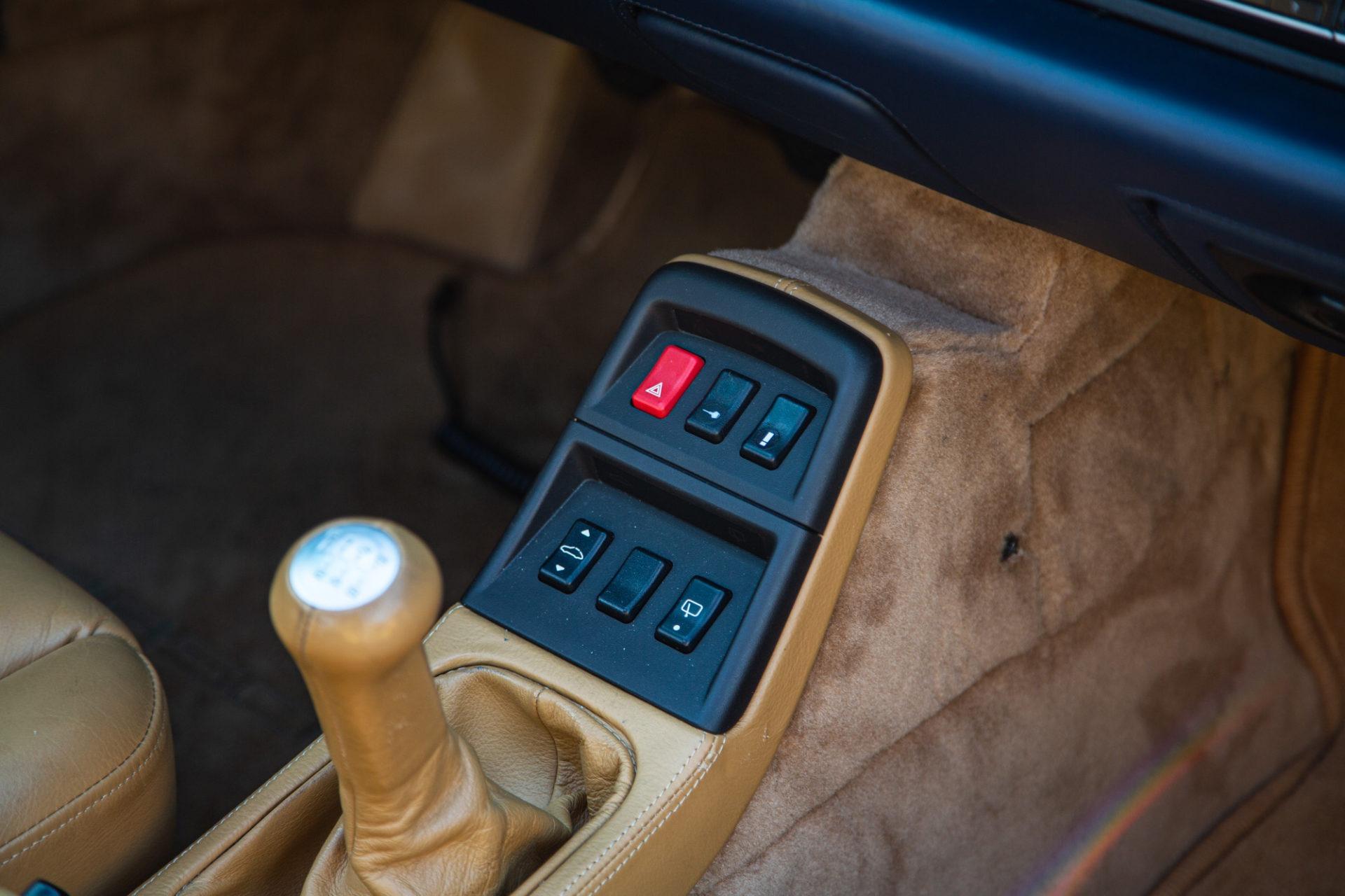Porsche 911 Type 993 Turbo - Intérieur