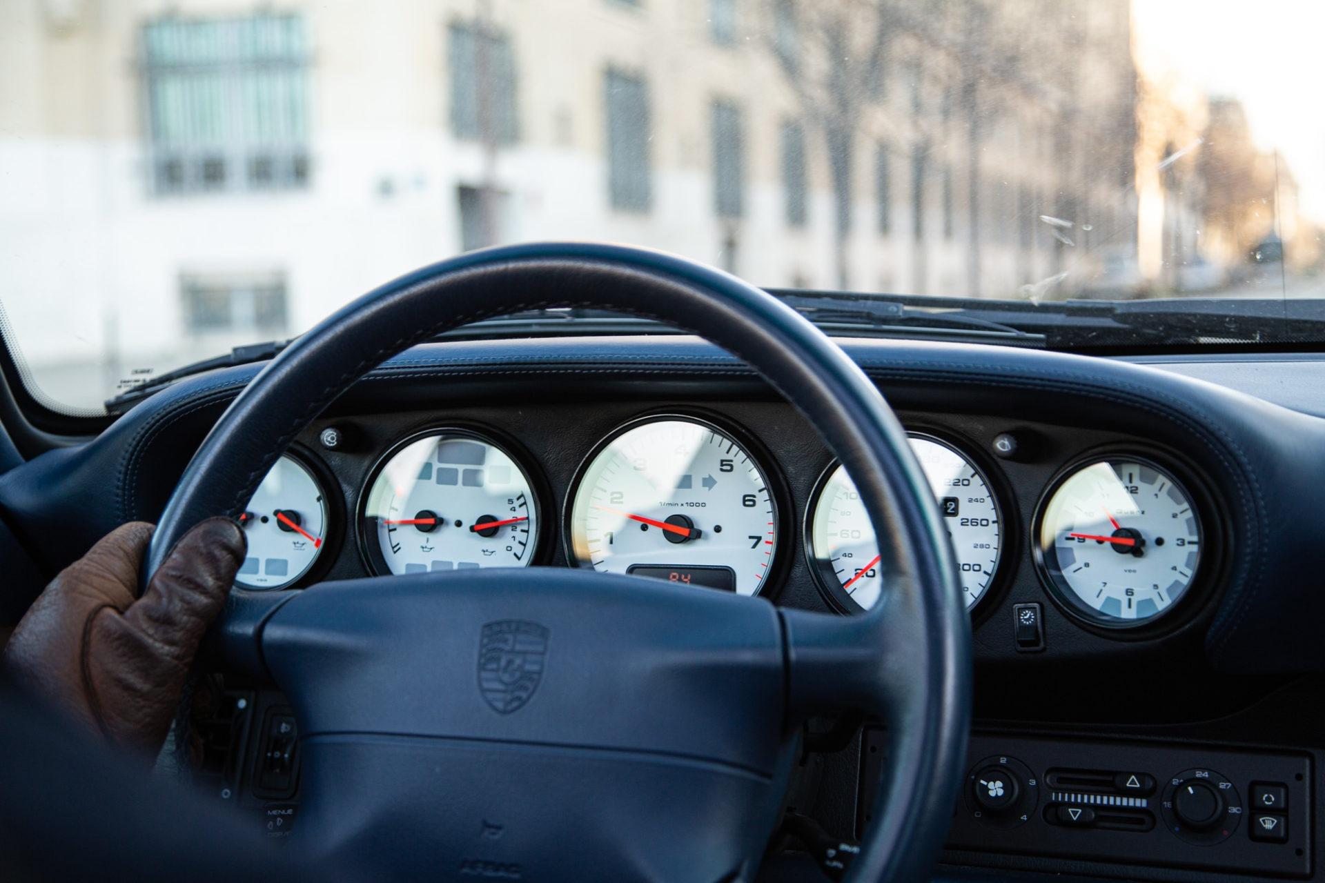 Porsche 911 Type 993 Turbo - Tableau de bord