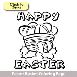 Easter Coloring Pages at Lesruba Designs