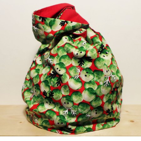 Zero waste wrapping bag