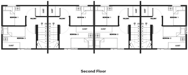 lessandra arielle townhouse second floor plan