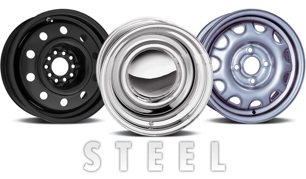 hight resolution of steel wheels