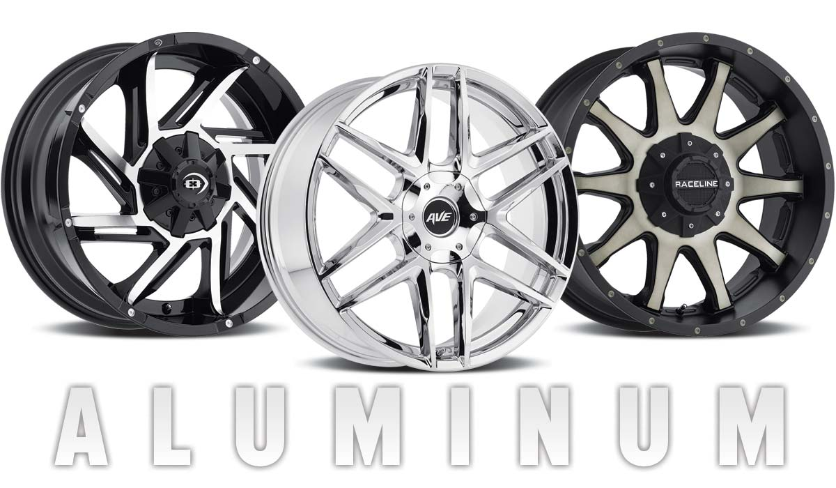 hight resolution of aluminum wheels