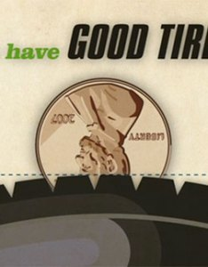 Test tread depth with  penny also tire and the useful les schwab rh lesschwab