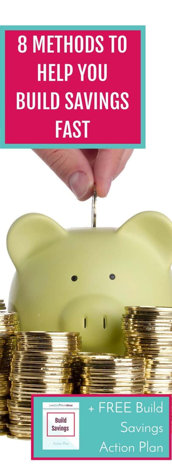 save money | build savings | money saving tips | personal finance tips | emergency fund | millennial money tips
