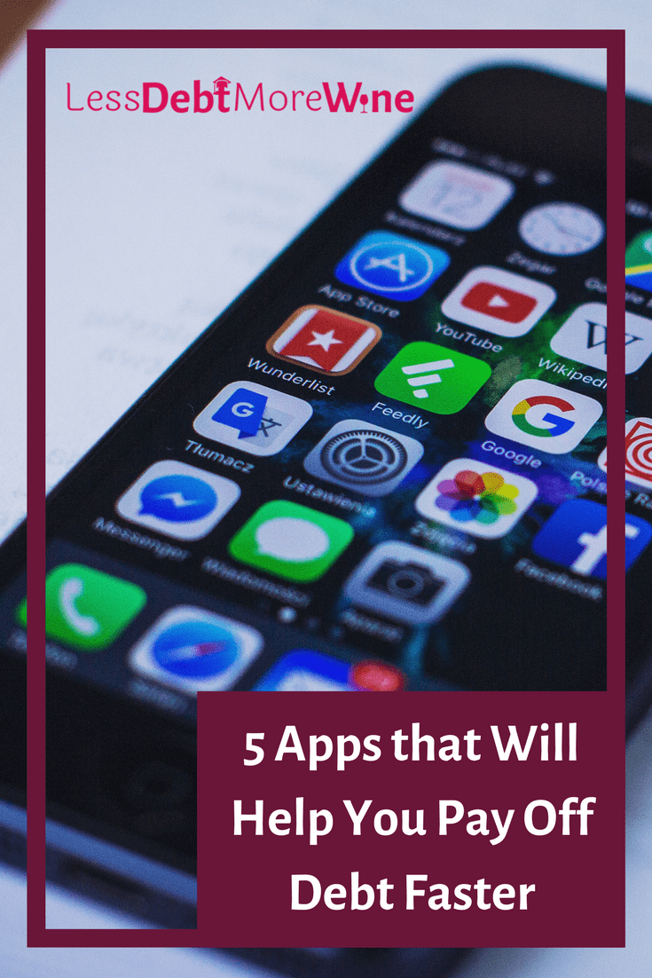 Apps that are easy to use and don't require tons of time that help pay off debt faster. Some just need to be set up and others can be used more often.