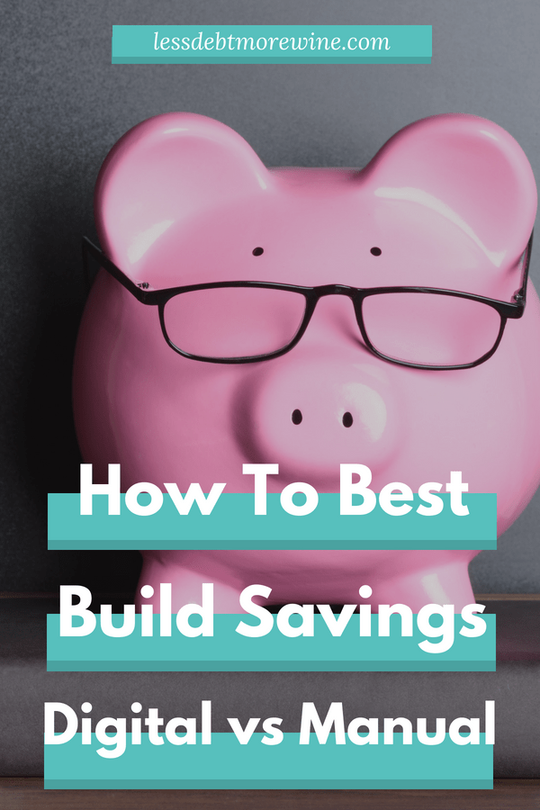 There are tons of ways to save money but which way is going to be right for you? Check out this post to learn about 8 different manual and digital savings strategies that can make saving money a breeze #personalfinance