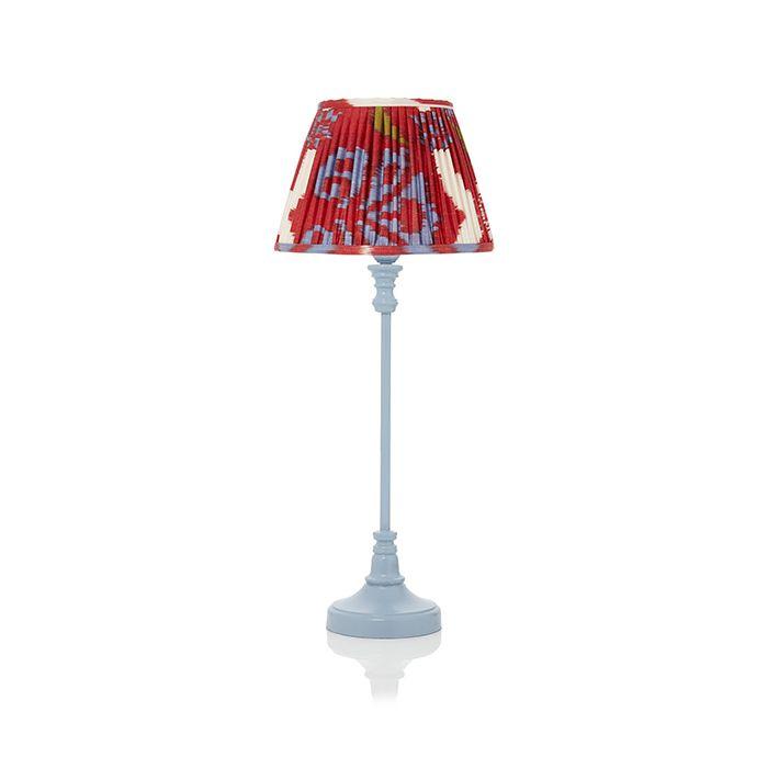Blue Bedside Lamp Retro Table Lamp