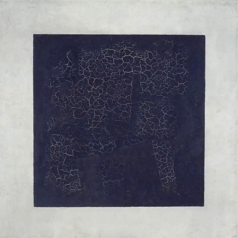 Kazimir Malevich, Quadrato nero, 1915, olio su lino, 79.5 x 79.5 cm, Galleria Tret'jakov, Mosca.