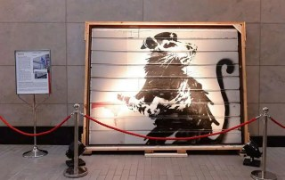 "Haight Street Rat"" di Banksy Photo: Brian Grief"