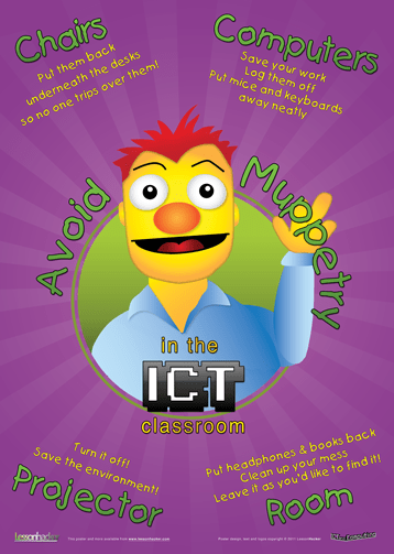 ICT Muppet Poster