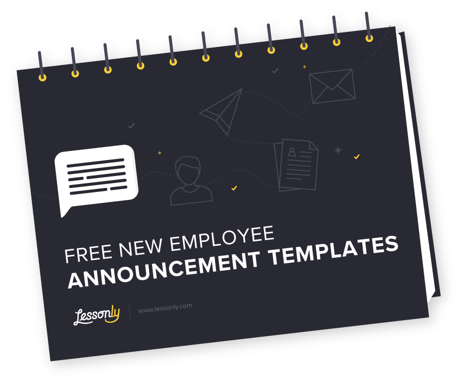 free new employee announcement