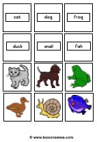 Word memory  LessonSensecom