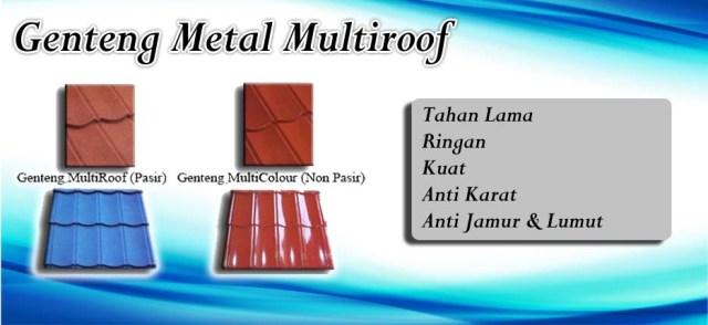 Jual genteng metal multiroof termurah terbaru 2019