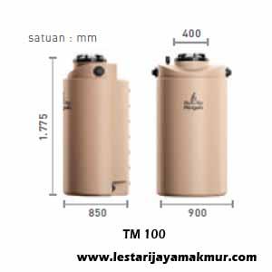 tangki air penguin modular tank