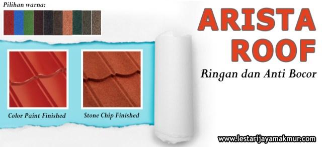 harga genteng metal arista roof